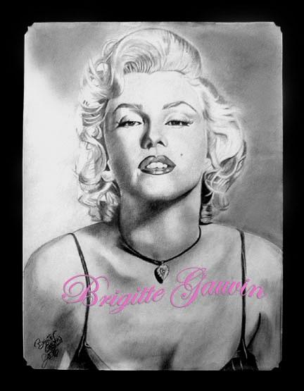 Marilyn Monroe by BrigitteGo